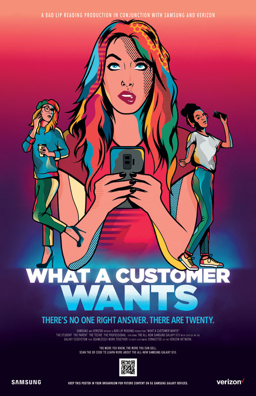 What-A-Customer-Wants-POSTER